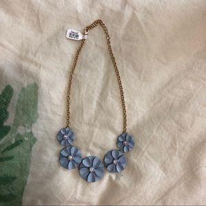 Jewelry - Enamel Flower Necklace